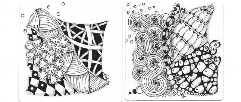 After Work: Zentangle® - die meditative Zeichenkunst