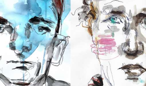 Portraits in Graphit
