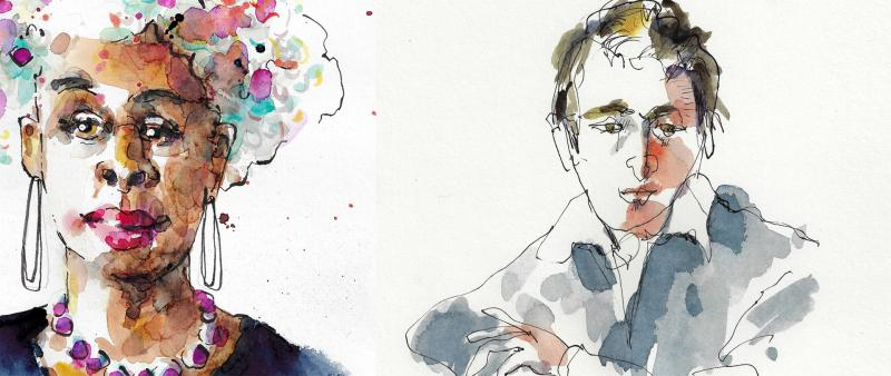 After Work: Gesichter in Aquarell Basics