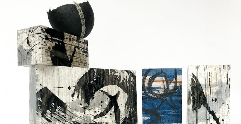 Die unendlichen Möglichkeiten der abstrakten Malerei auf Papier
