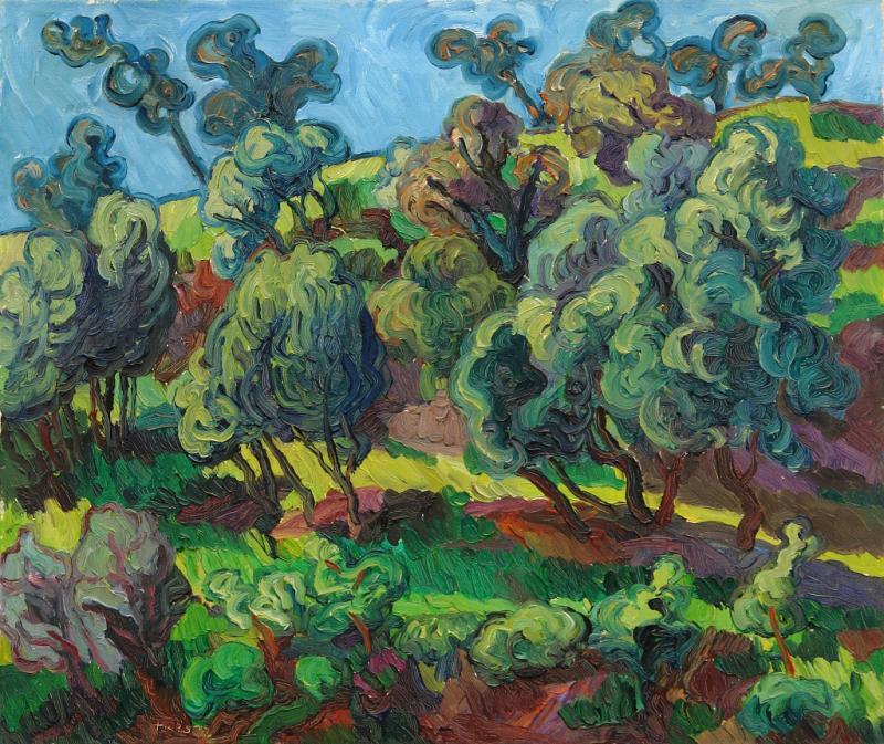 Malen wie van Gogh