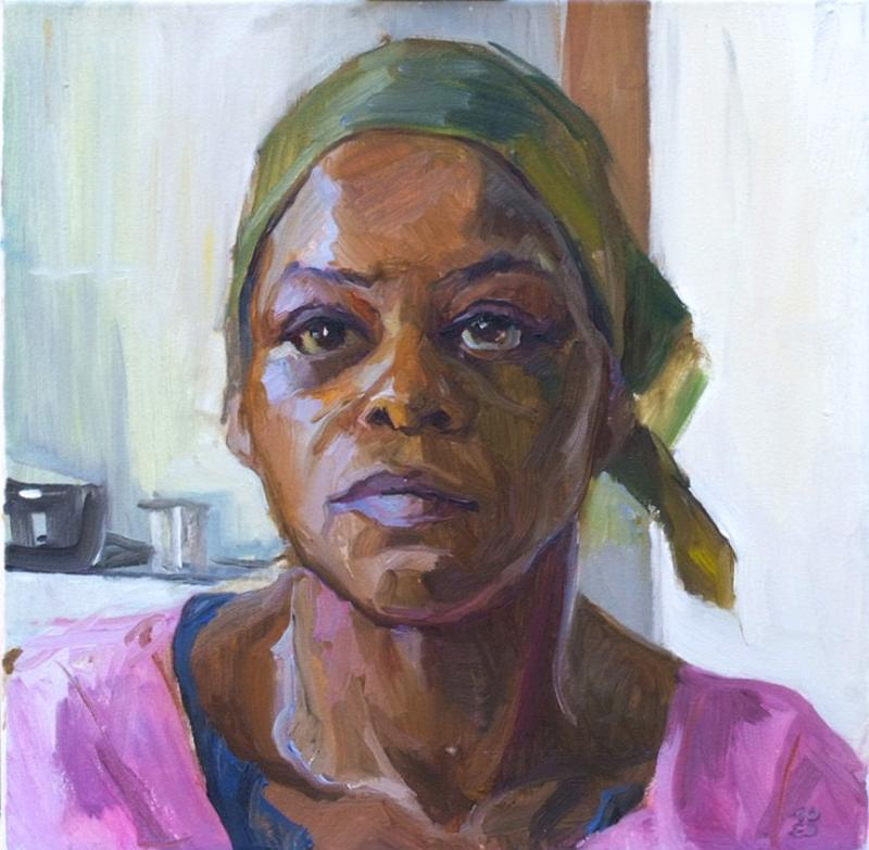 *Porträtmalen in Öl