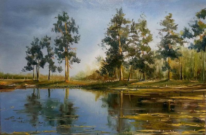 Landschaftsmalerei in Öl