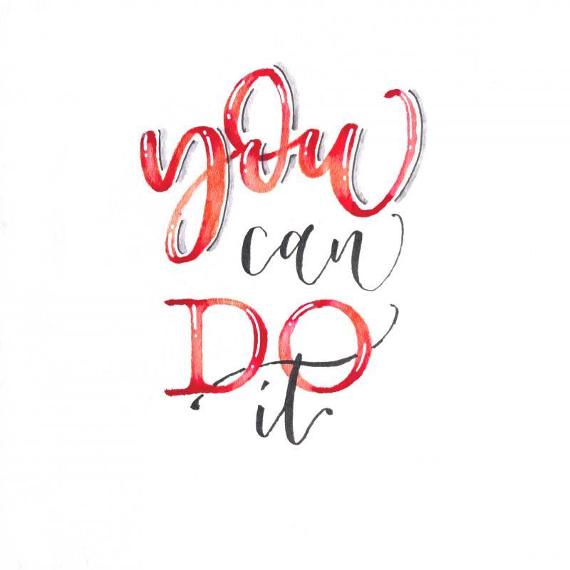 Lust auf schöne Buchstaben? Handlettering Workshop für Einsteiger