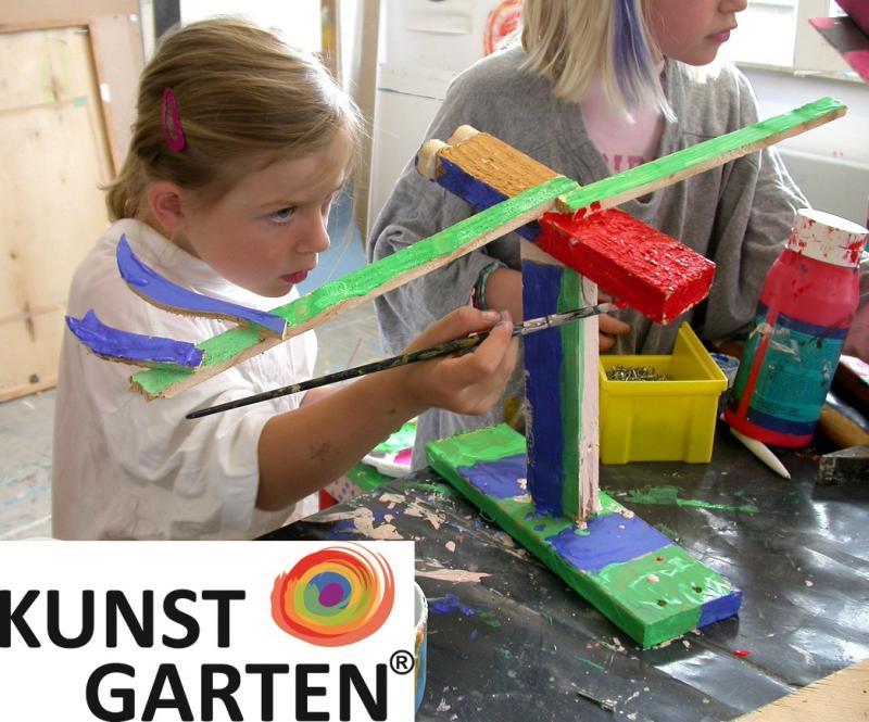 """Werden Sie qualifizierte """"Kunstgarten"""" Kursleiter/in!"""