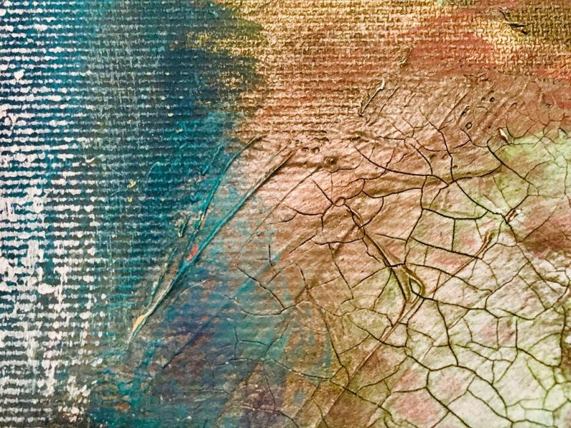 Acryl, Pigment, Struktur