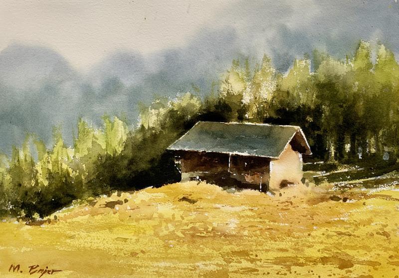 Landschaften aquarellieren