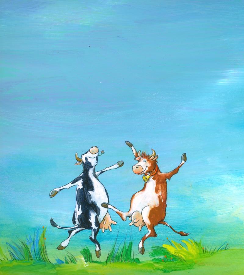 Wenn die Kuh anfängt zu tanzen...