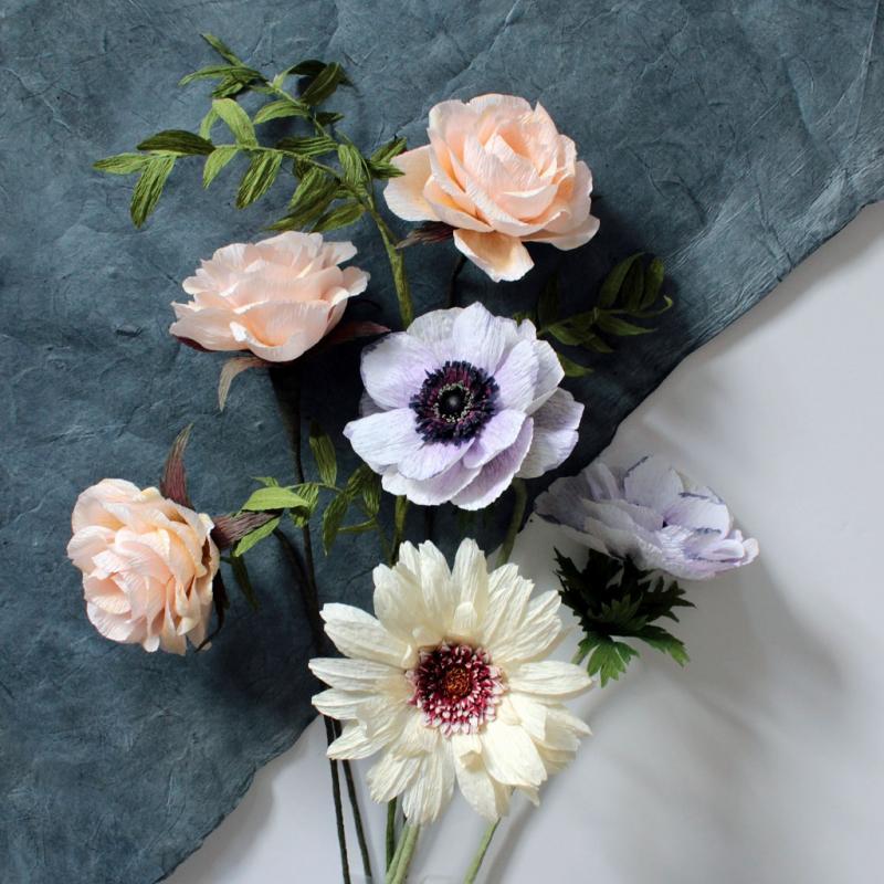 Papierfloristik - Blumen für die Ewigkeit